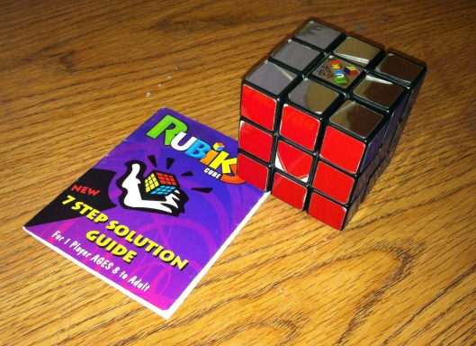 2014.03.07 Unfinished Business Rubik's Cube